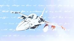 Fighter jet Stock Illustration