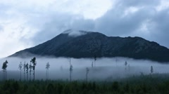 Stock Video Footage of High Tatras (Slovakia) Summer Cloudy View.