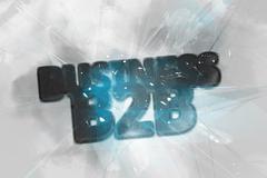 Exploding Business B2B logo Stock Illustration