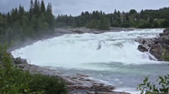 Summer Mountain River (Norway) - stock footage