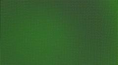 Green pixels moire effect greenscreen Stock Footage