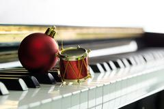 Christmas melody - stock photo