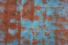 Vintage blue rusty background Stock Photos