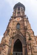 Freiburg Munster cathedral, Freiburg im Breisgau city, Germany - stock photo