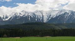 Beautiful landscape of Austrian Alps - stock footage