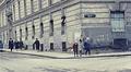 Vienna 1962: children walking in the street Footage