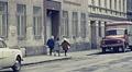 Vienna 1962: children wallking in the street HD Footage