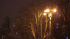 New year's night. - stock footage