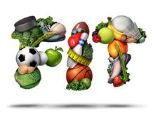 Stock Illustration of Fit Concept