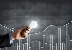 Business growth ideas - stock photo