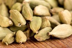 Cardamom spicy seasoning of India - stock photo