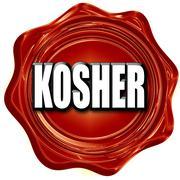 Stock Illustration of Delicious kosher food