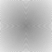 Concentric circle elements. Vector illustration for sound Stock Illustration