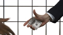 Corruption among countries. Stock Footage