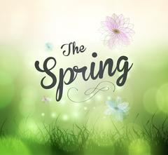 Its Spring Time Stock Illustration