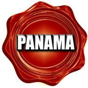 Greetings from panama Stock Illustration