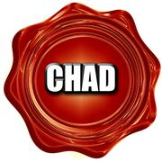 Greetings from chad Stock Illustration