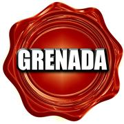 Greetings from grenada - stock illustration