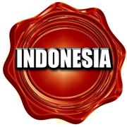 Greetings from indonesia Stock Illustration