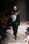 Bashaques Catwalk in Mercedes-Benz Fashion Week Istanbul - stock photo