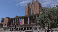Montevideo City Hall or Intendencia Municipal, Uruguay Stock Footage
