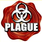 Plague concept background - stock illustration