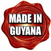 Stock Illustration of Made in guyana