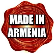 Made in armenia Stock Illustration