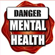 Mental health  sign Stock Illustration