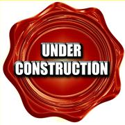 Under construction sign Stock Illustration