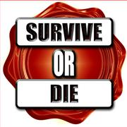 Survive or die Stock Illustration