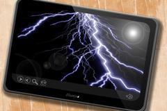 Stock Illustration of Lightning flash