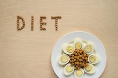 Diet food sign - stock photo