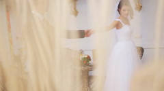 Young couple preparing their first dance for being incredible and not forget Stock Footage