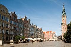 Town hall, Gdansk, Poland Stock Photos
