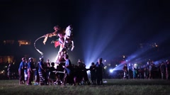OGO OGO FESTIVAL, INDONESIA, BALI, 8 MARCH 2016 Stock Footage