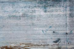 Old woodan wall, shabby paint as background - stock photo