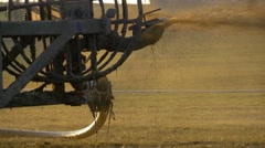 Slurry Spreader Stock Footage