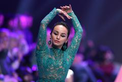 Sofia Fashion Week dancing - stock photo