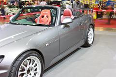 HONDA S2000 show at the second Bangkok international auto salon 2013 - stock photo