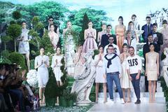 Bipa Fashion Show: Elfs, Zagreb, Croatia. Stock Photos