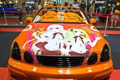 TOYOTA ARISTO  show at the second Bangkok international auto salon 2013 - stock photo