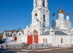 Saint troitsk friary, city Perm, Stock Photos