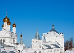 Saint troitsk friary, city Perm, - stock photo