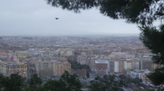 View of Rome from Monte Mario  Stock Footage