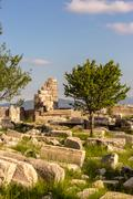 Ancient city of Sagalassos in Anatolia, Turkey - stock photo