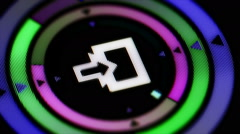 Enter icon. Looping. - stock footage