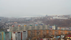 City of Vladivostok Stock Footage