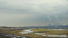 Metallurgical Plant Stock Footage