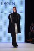 Tuba Ergin Catwalk in Mercedes-Benz Fashion Week Istanbul - stock photo